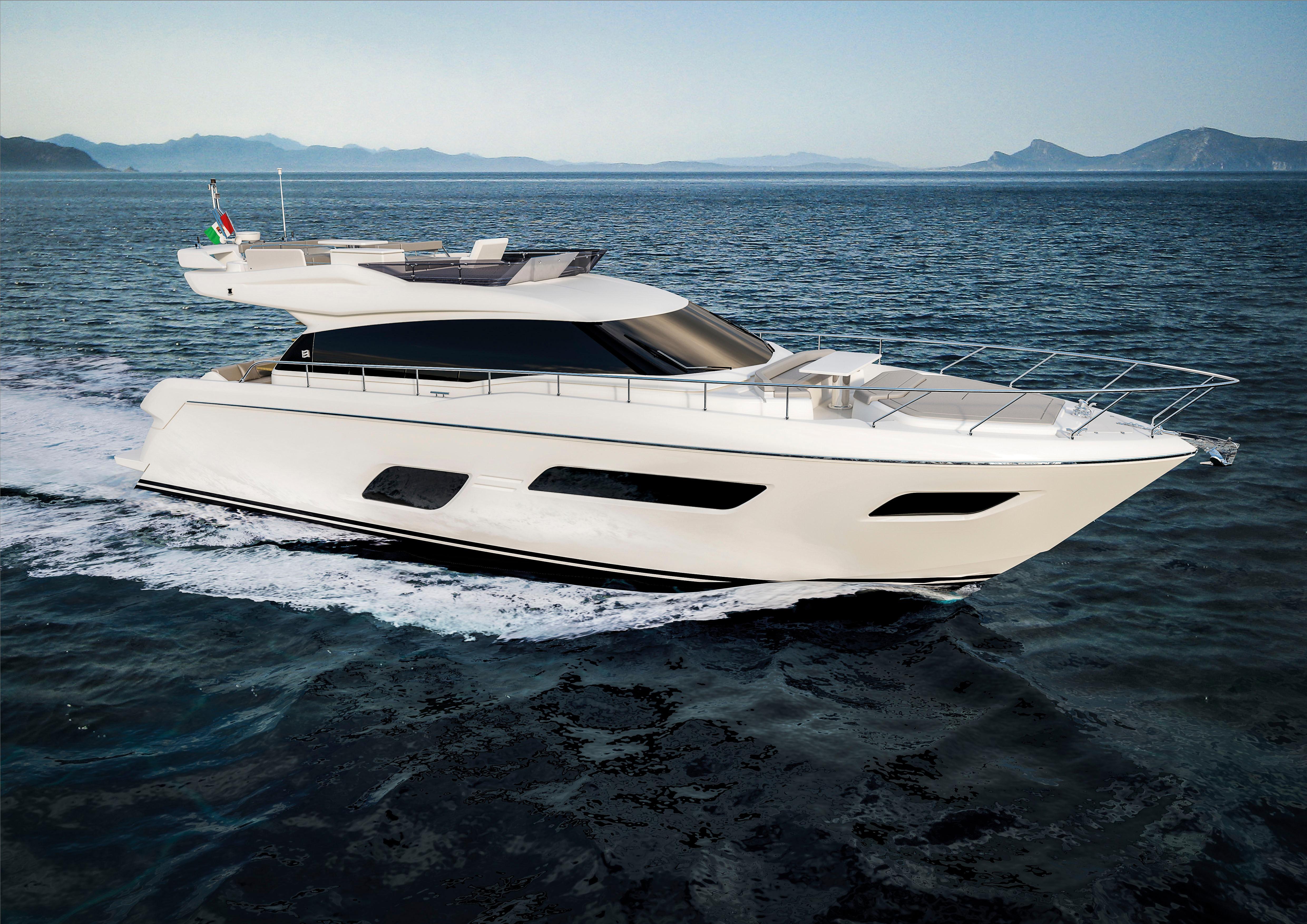 Manufacturer Provided Image: Ferretti Yachts 550