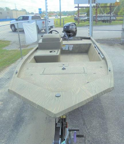 2020 Tracker Boats boat for sale, model of the boat is Grizzly 1648 SC & Image # 2 of 15