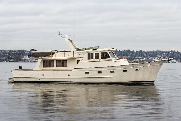 2002 55 39 Fleming Pilothouse Motor Yacht For Sale
