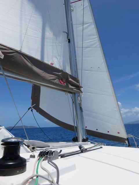 Lagoon 450 Under Sail