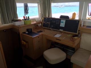 Lagoon 450 Navigation Station