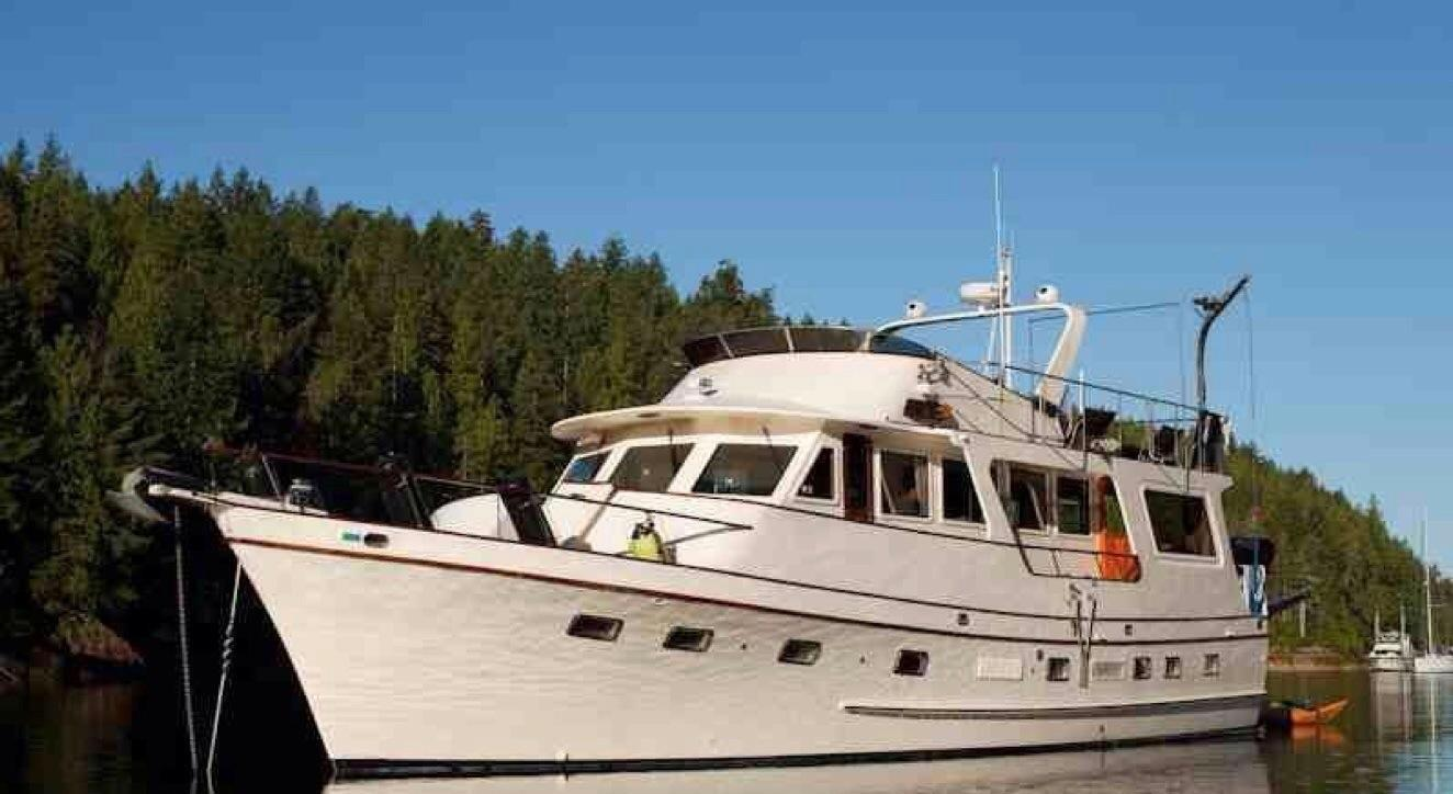 60 39 angel flush deck motoryacht yacht for sale rubicon for Angel boats and motors