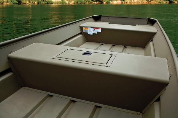 2014 Tracker Boats boat for sale, model of the boat is Topper 1542 LW Riveted Jon & Image # 6 of 12