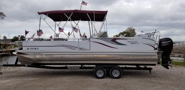2018 APEX PONTOONS ANGLER QWEST 824 CUSTOM for sale