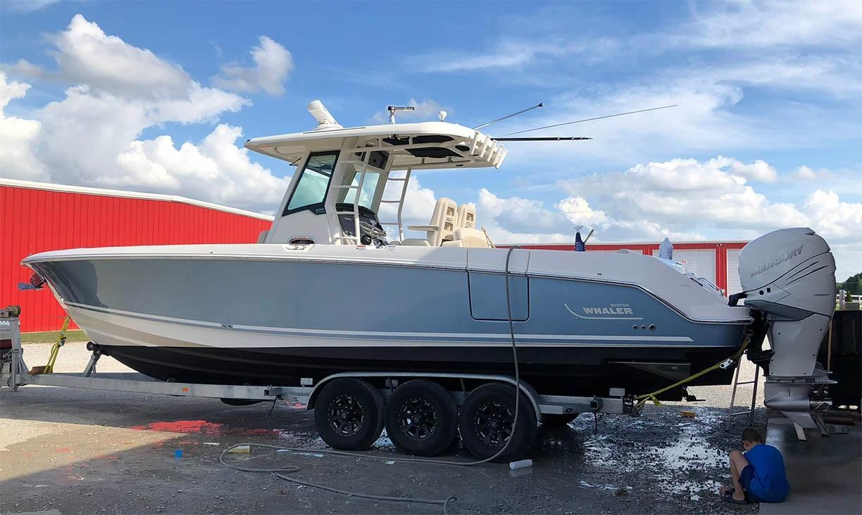 33 Boston Whaler 2017 Key West | Denison Yacht Sales
