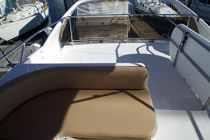 Viking 46 Princess - Upper Helm Seating 2