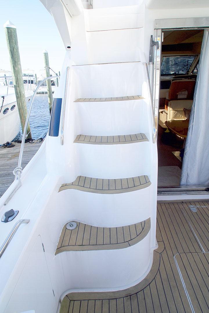 Viking 46 Princess - Stairway Access To Bridge