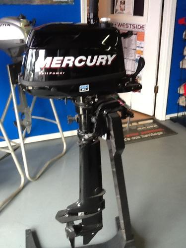 New 2011 Mercury 5 Hp Sail Power Motor For Sale In