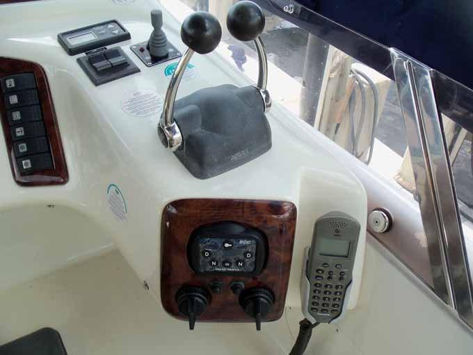Helm Detail to Starboard