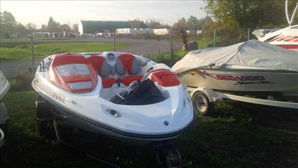2008 Sea Doo Sportboat boat for sale, model of the boat is Speedster 150 & Image # 2 of 8