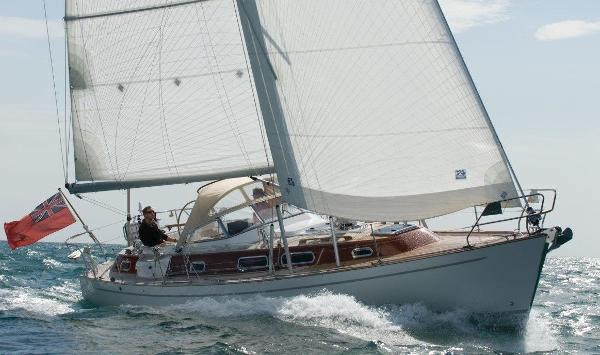 Najad 380 Aphrodite used boat for sale from Boat Sales International