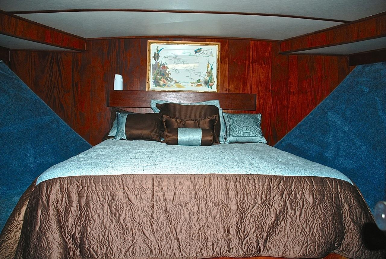 Forward Master Stateroom View 1