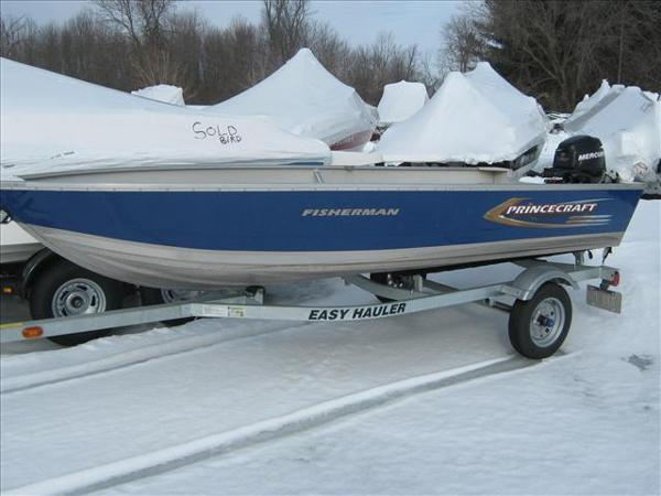 2011 PRINCECRAFT FISHERMAN for sale