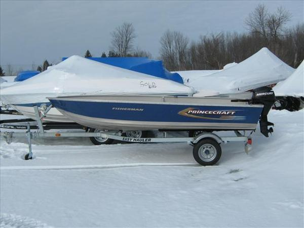 2011 Princecraft boat for sale, model of the boat is Fisherman & Image # 2 of 5