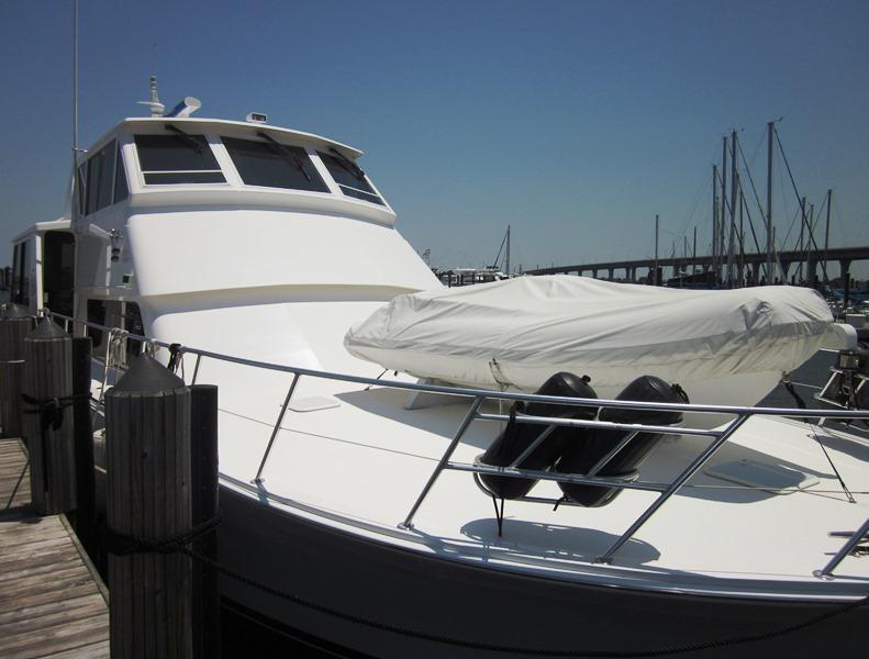 Foredeck-Jet Boat