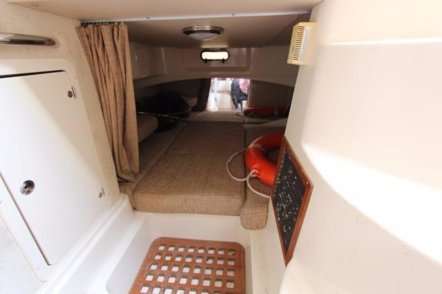 View into aft compartment