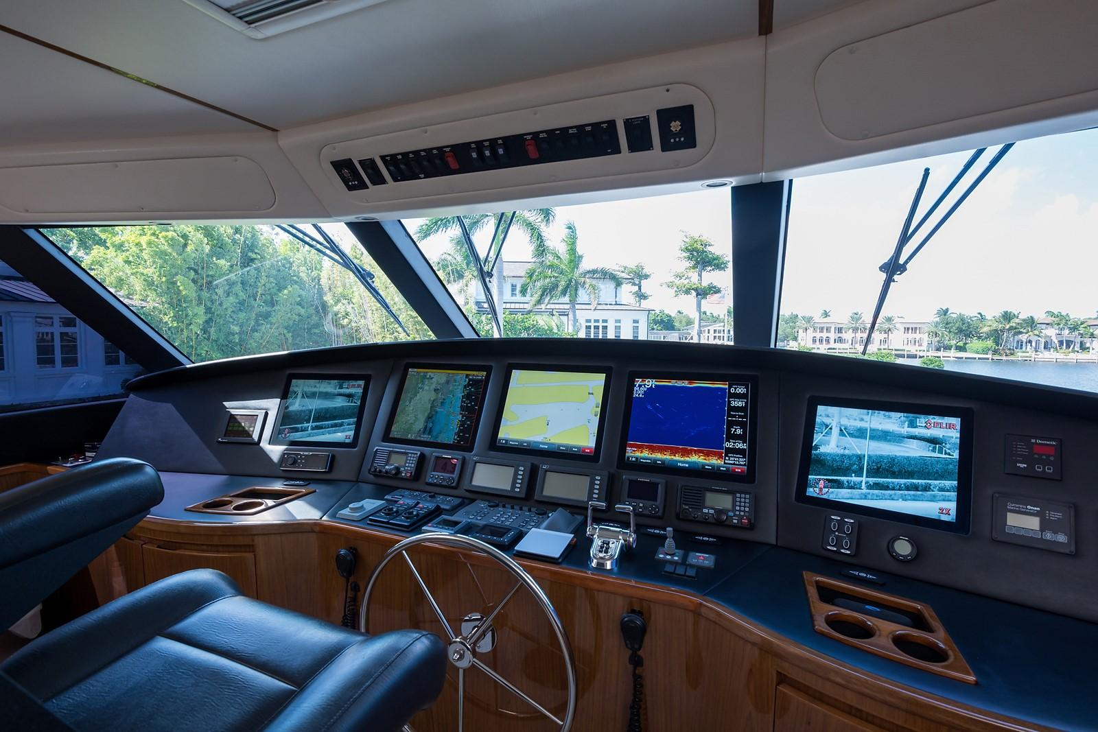 No Name 82 Viking Yachts For Sale Train Horn Wiring Diagram Enclosed Flybridge