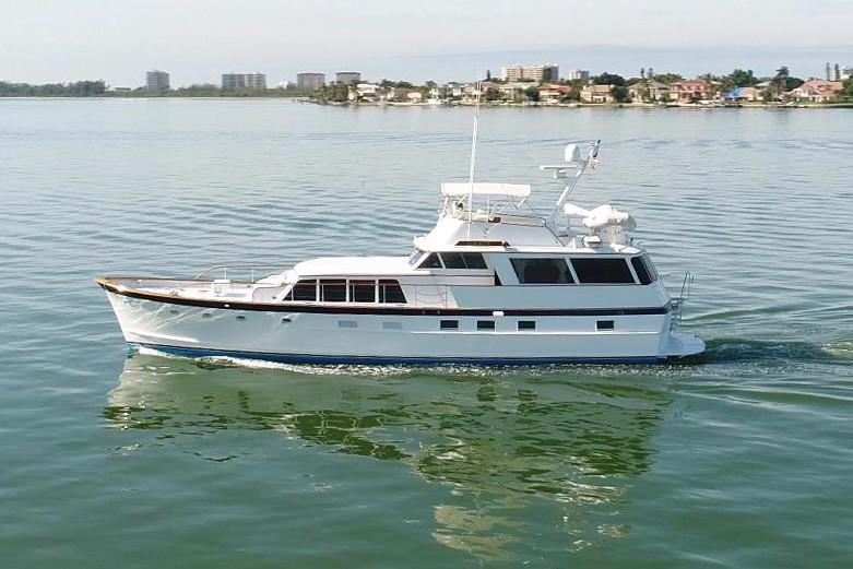 Burger 64 Flush Deck Motor Yacht