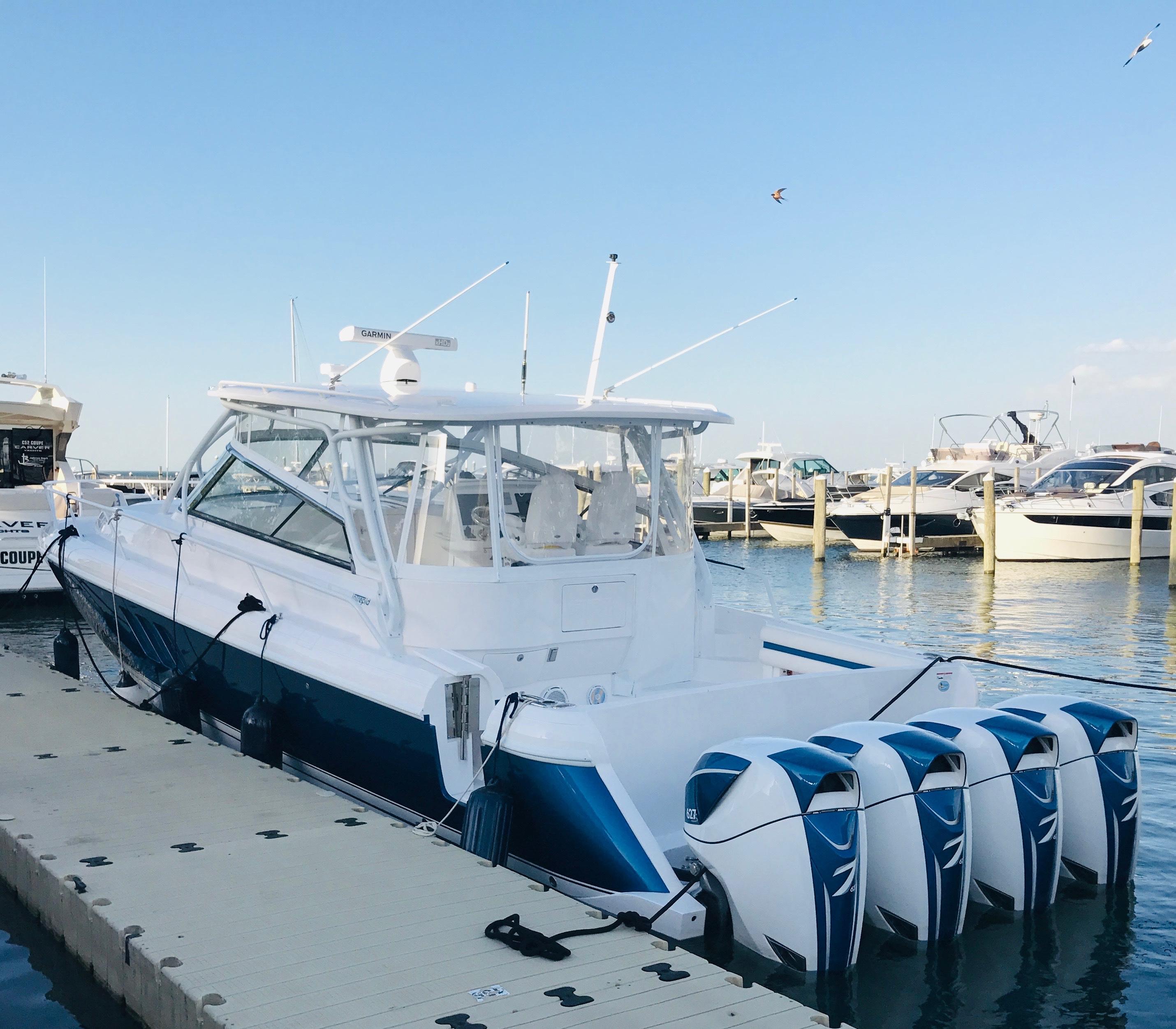 48 Intrepid Port Side @ Dock