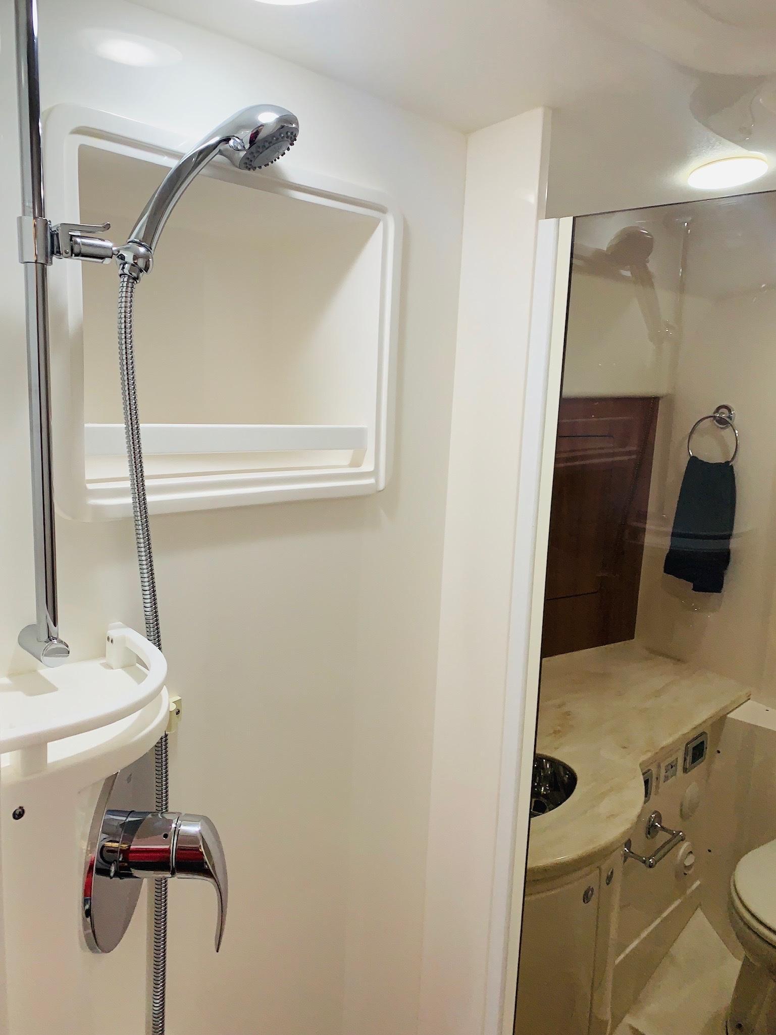 48 Intrepid Shower
