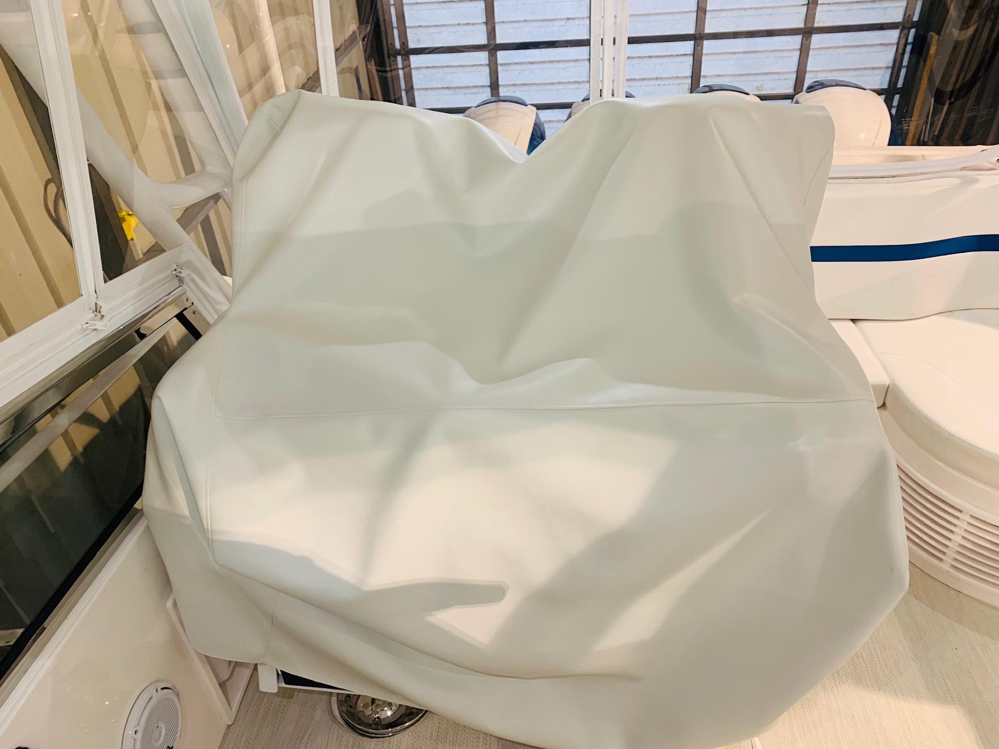 48 Intrepid Helm Seats - Covered