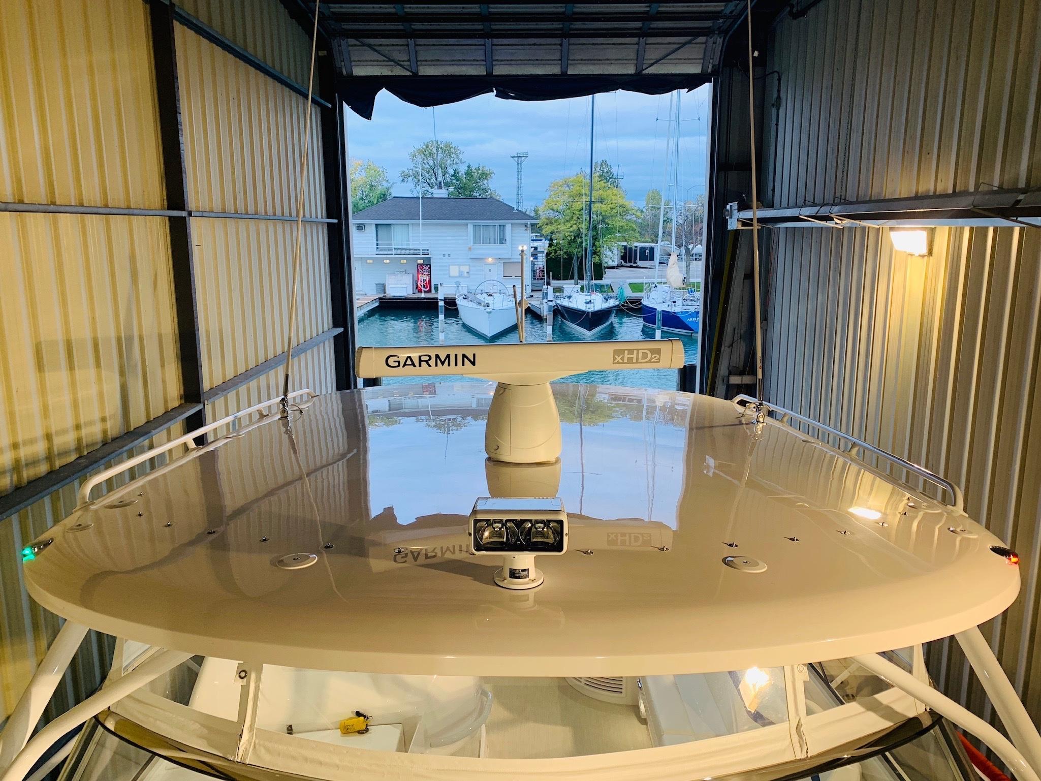 48 Intrepid Hard Top - Garmin HD Radar