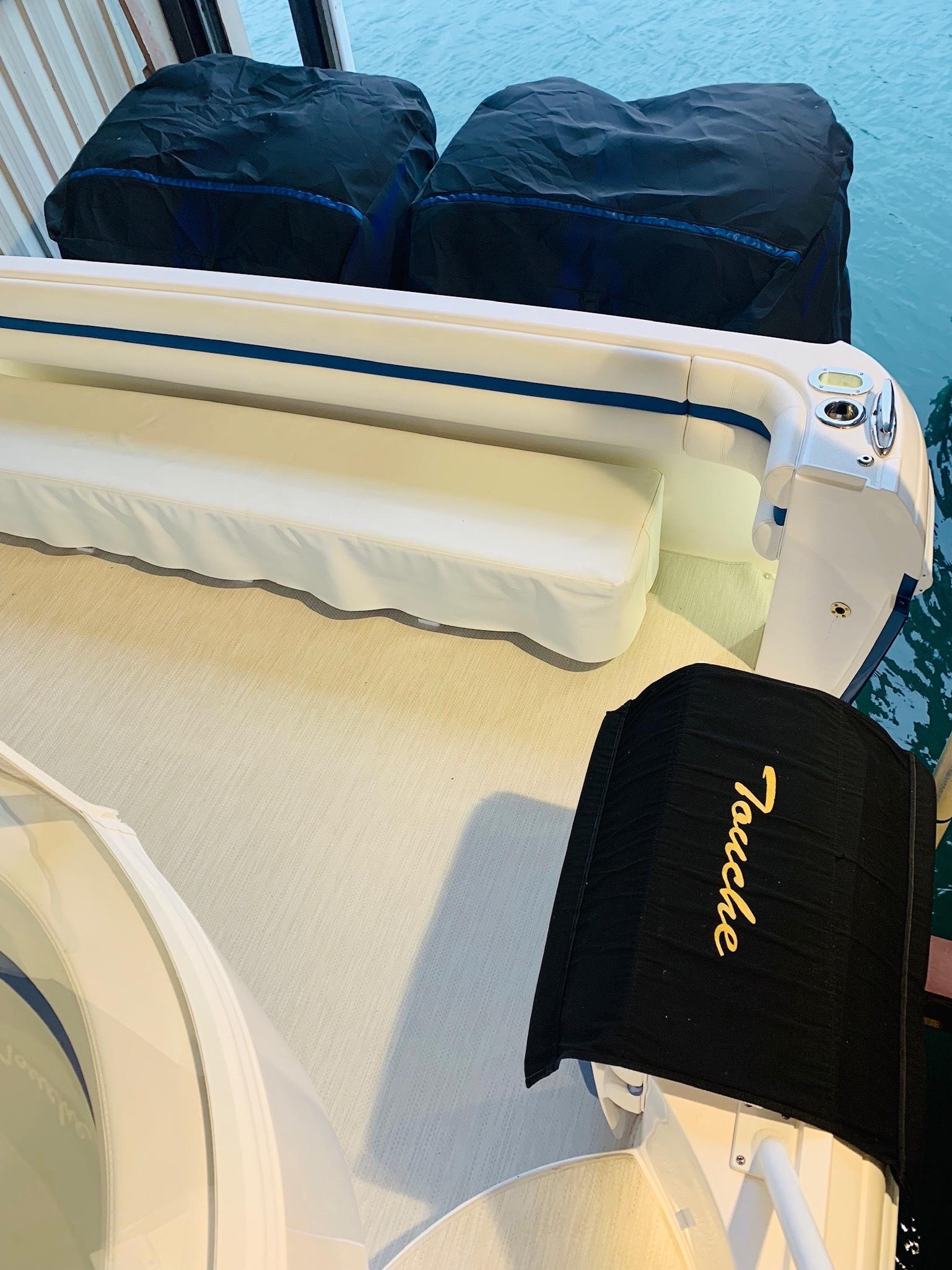 48 Intrepid Port Side Cockpit