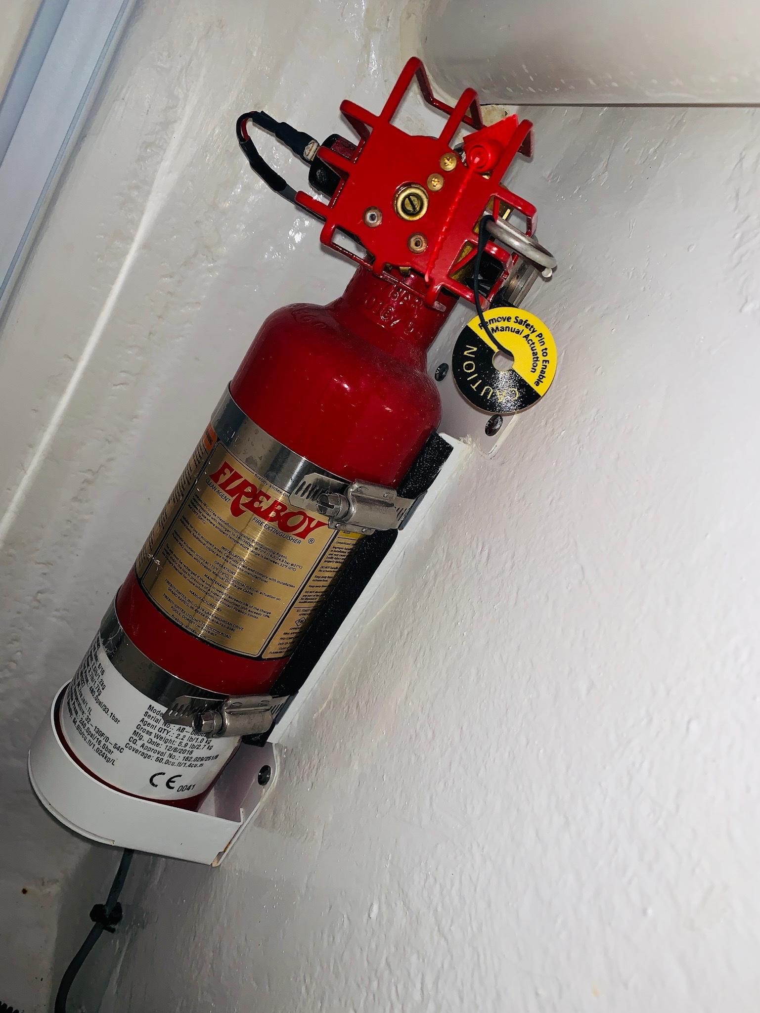 48 Intrepid Fire Suppression System