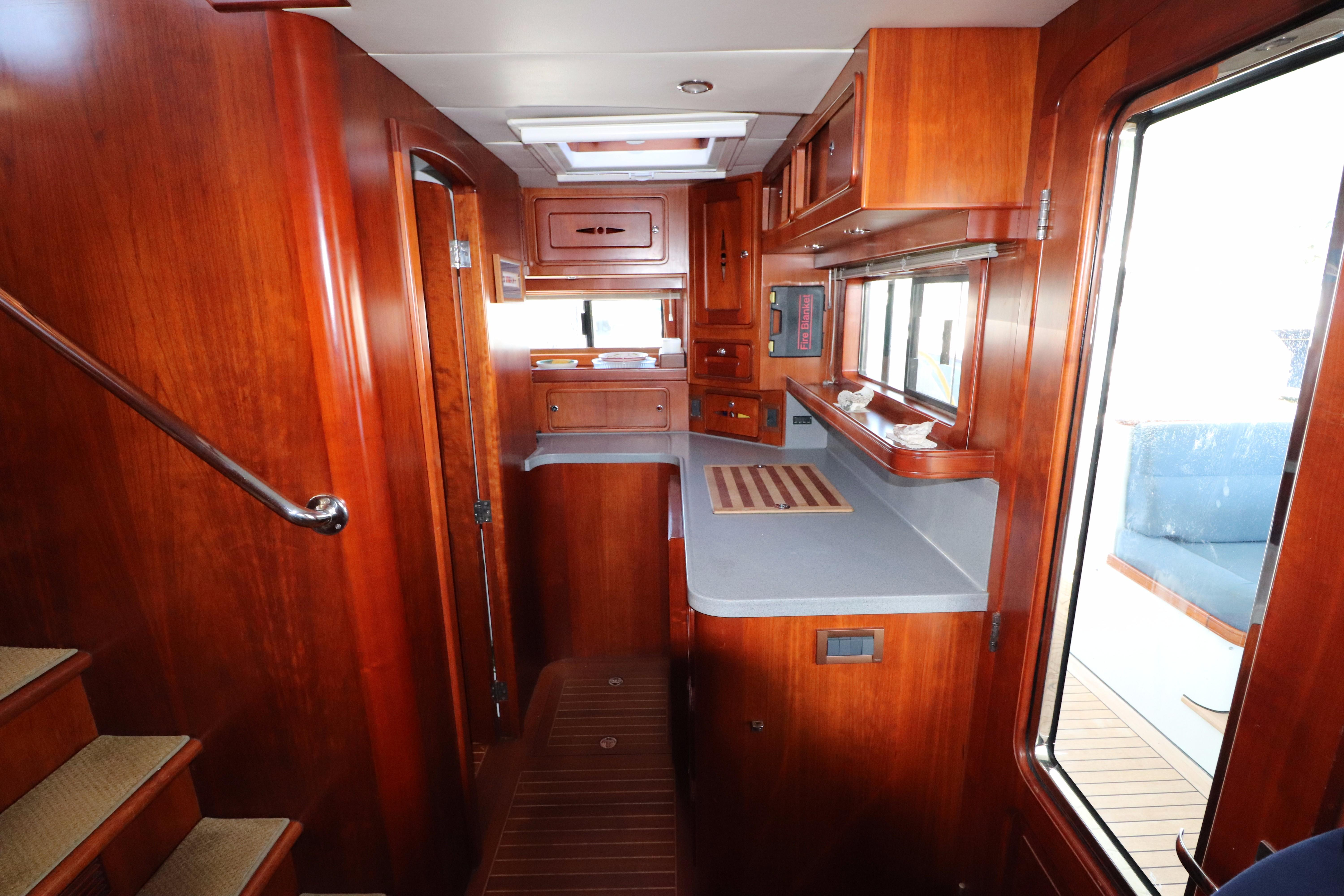 Galley Starboard View