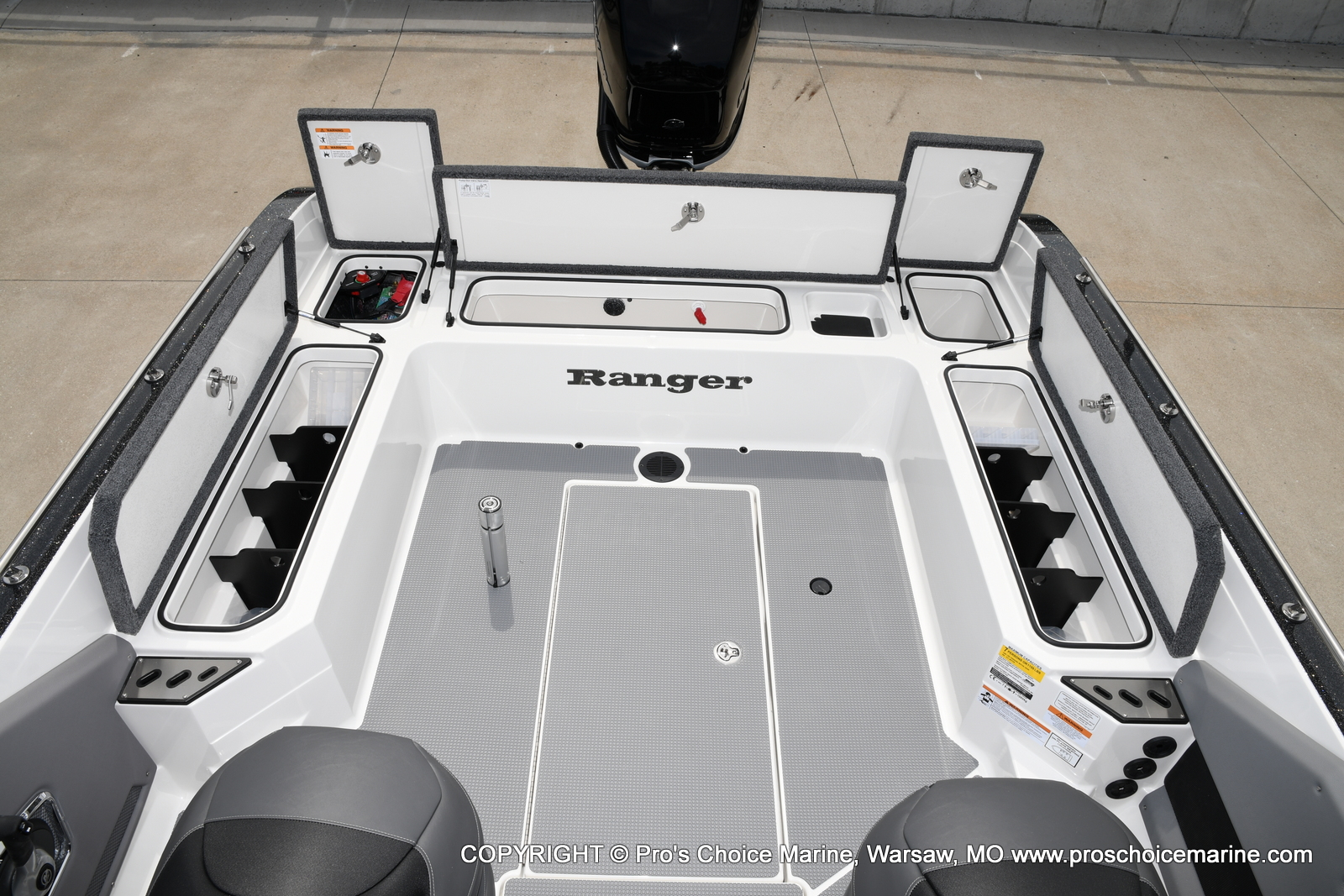 2021 Ranger Boats boat for sale, model of the boat is 622FS PRO w/400HP VERADO & Image # 35 of 50