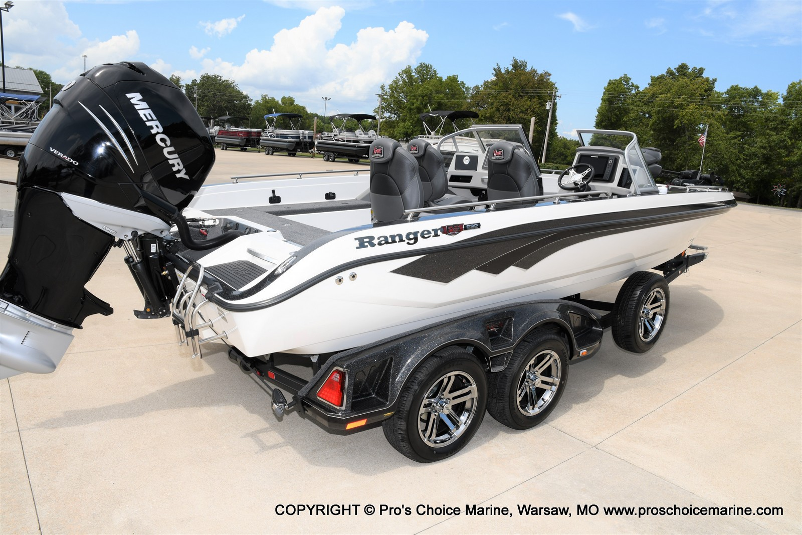 2021 Ranger Boats boat for sale, model of the boat is 622FS PRO w/400HP VERADO & Image # 39 of 50