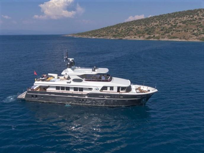 92 SES Yachts Custom Trawler Yacht 2010 Unknown | Denison Yacht Sales