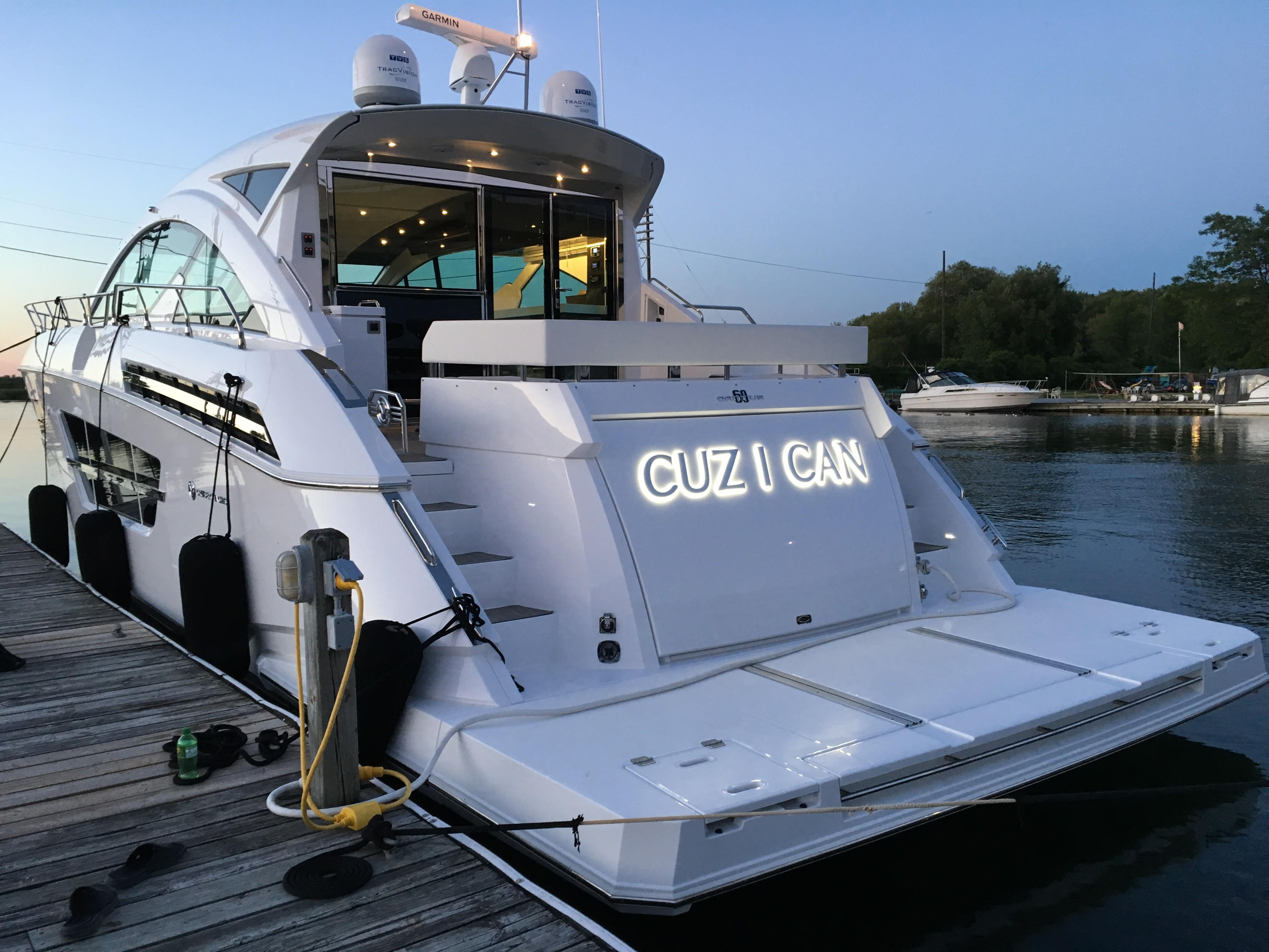 60' Cruisers Yachts 2018