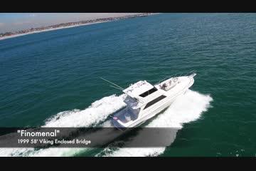 Viking Boats 58' Viking Enclosed Bridge video