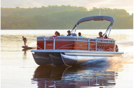 2020 Sun Tracker boat for sale, model of the boat is Party Barge 22XP3 w/150L 4S & Image # 3 of 3