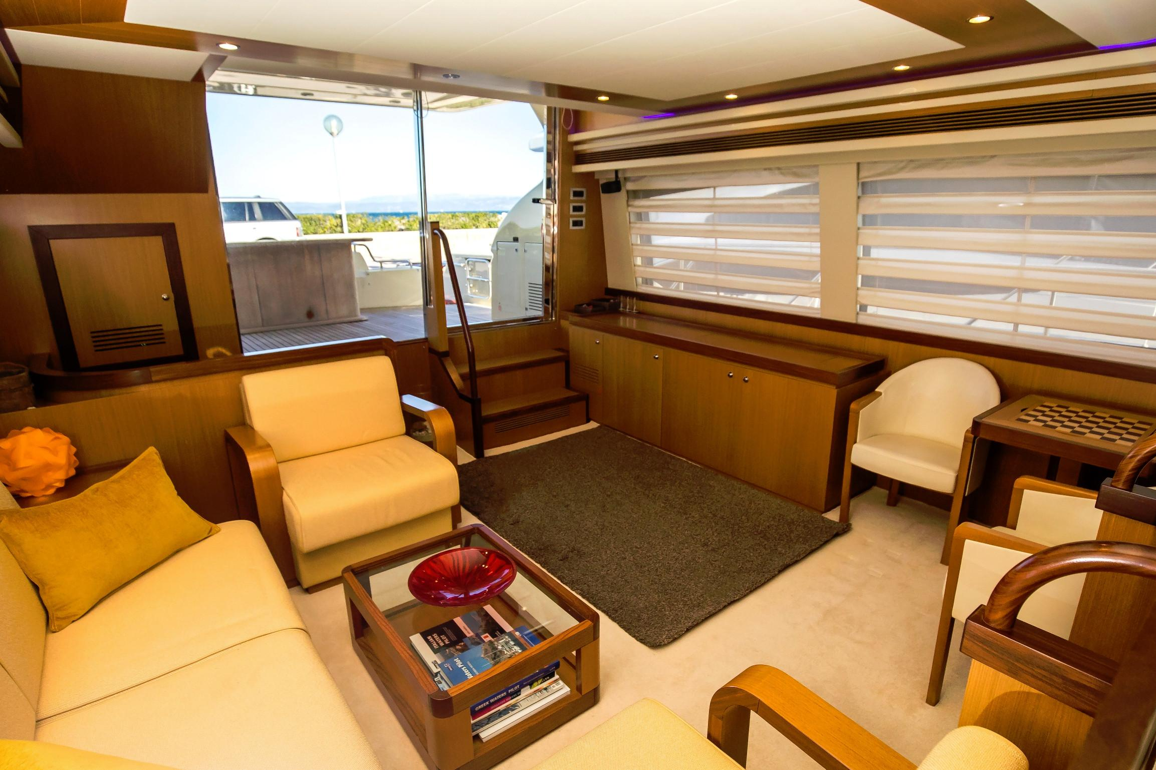 Lounge on main deck