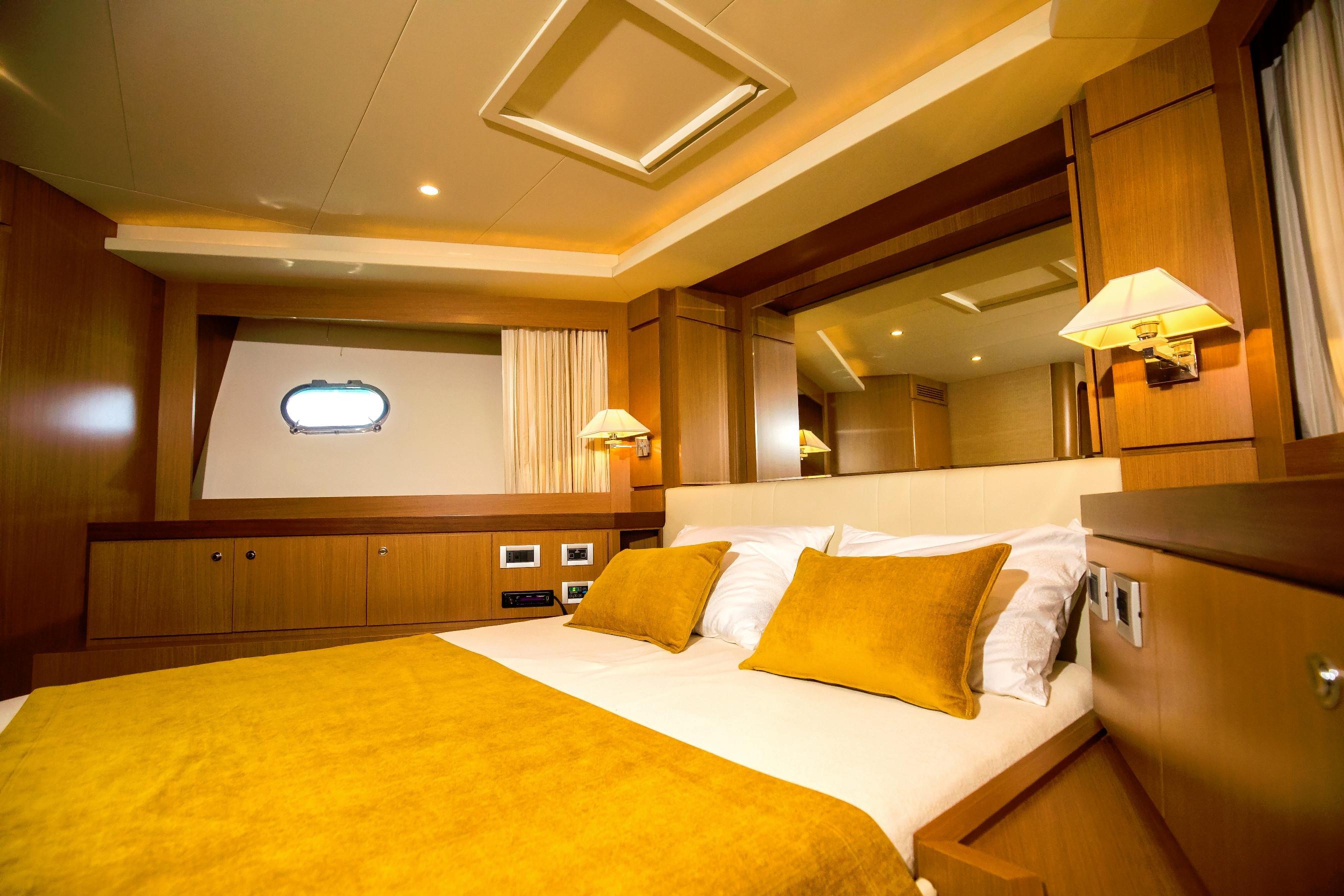 VIP cabin forward