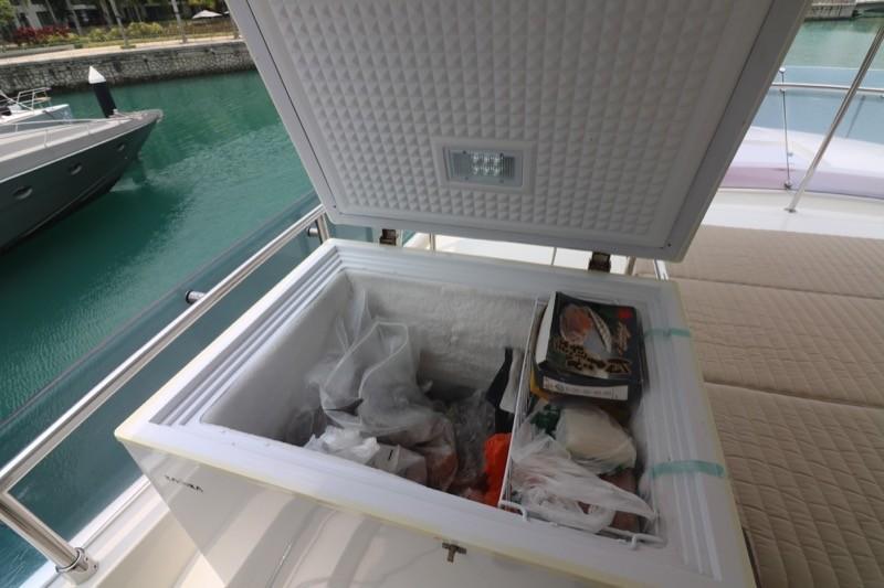 Fly Bridge freezer