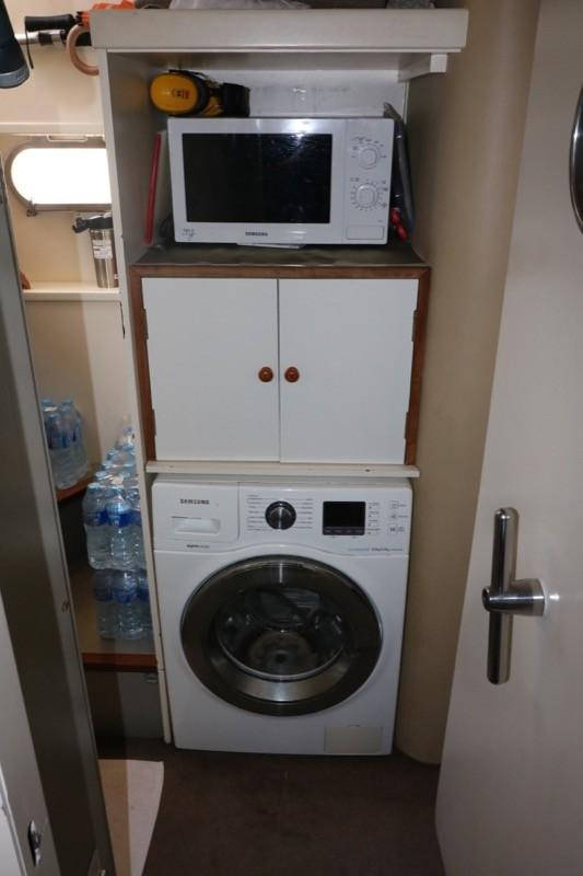 Washer in Crew area