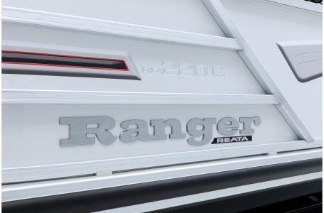 2020 Ranger Boats boat for sale, model of the boat is REATA 220C w/115ELPT PXS4 CT & Image # 38 of 50