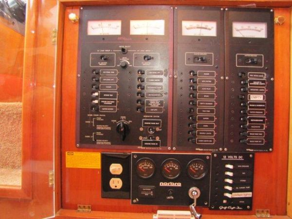 Gulf Craft Electrical Panel