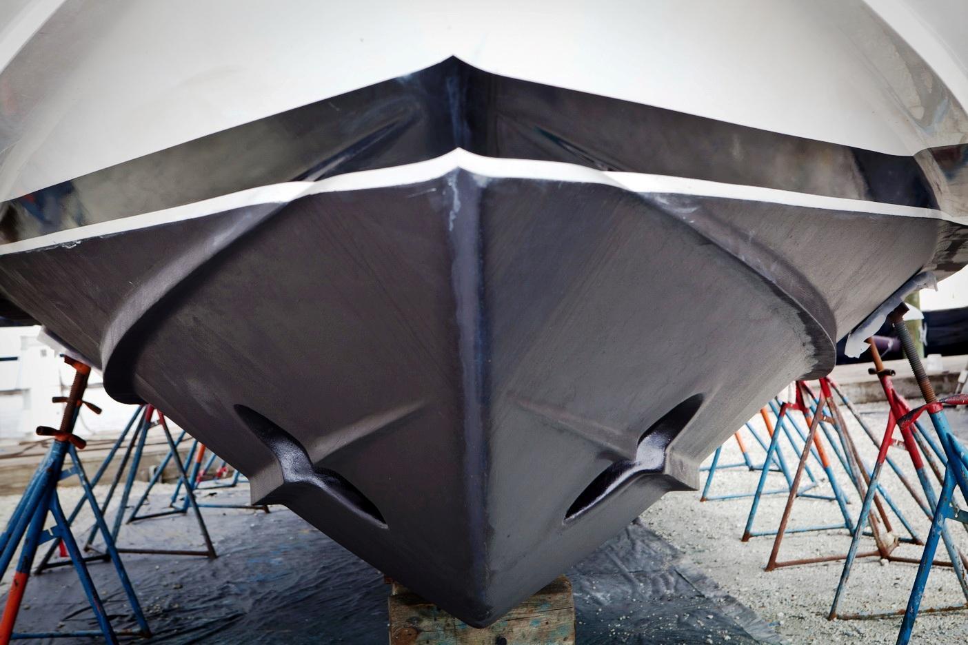 Gulf Craft Hull Out