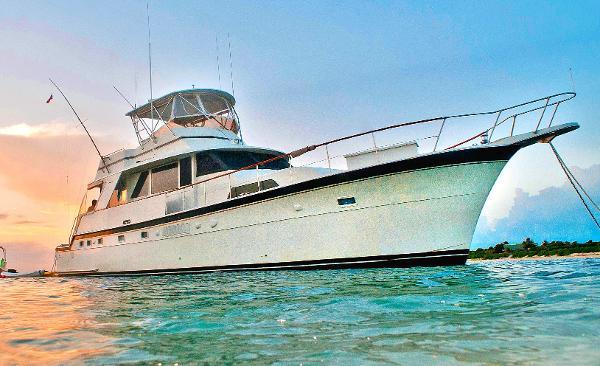 1975 58' Hatteras Yacht Fisherman