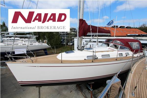 Najad 355 used boat for sale from Boat Sales International