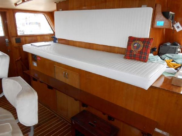 Pilothouse seat