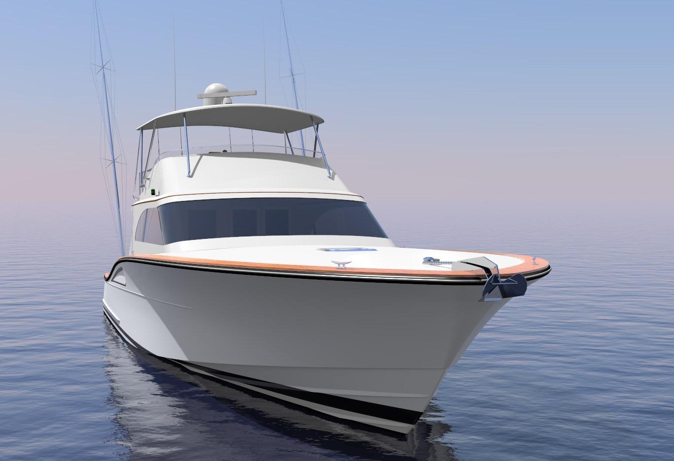 Brooklin Boat Yard 65 Perspective Bow