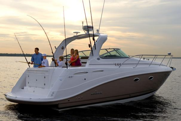 2014 Rinker boat for sale, model of the boat is 360 Express Cruiser & Image # 3 of 12
