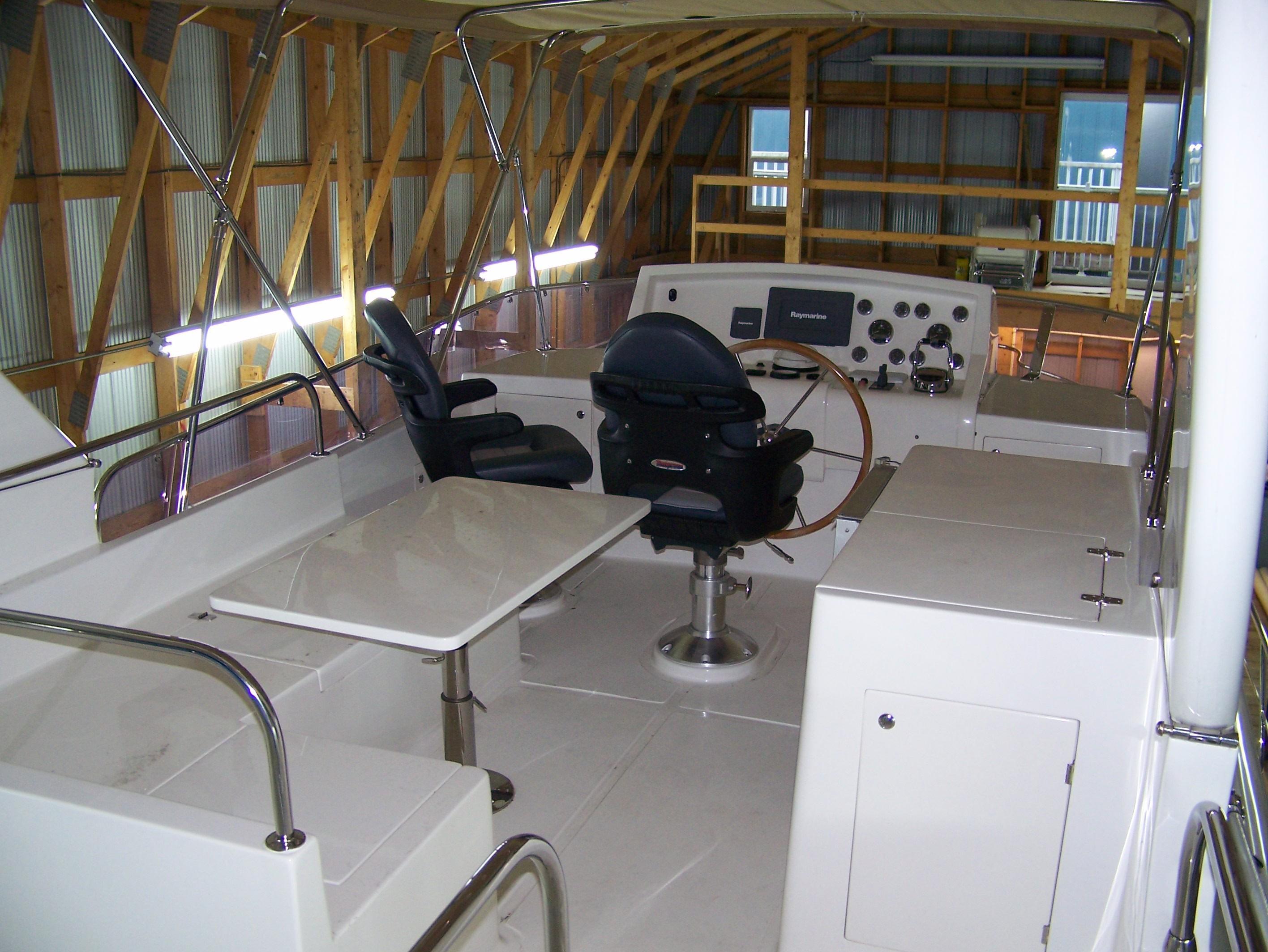 Bridge / helm area