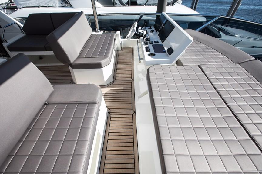 Flybridge Helm Seating, Companion Seating and Sunlounge