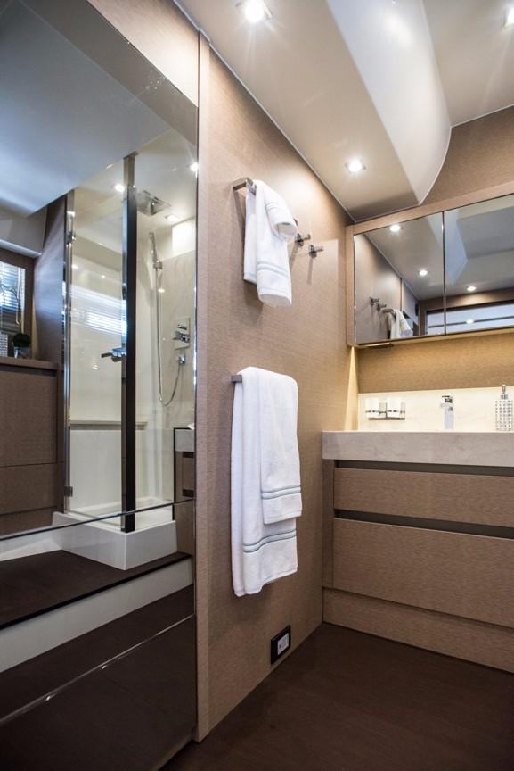 Master Head with Stall Shower